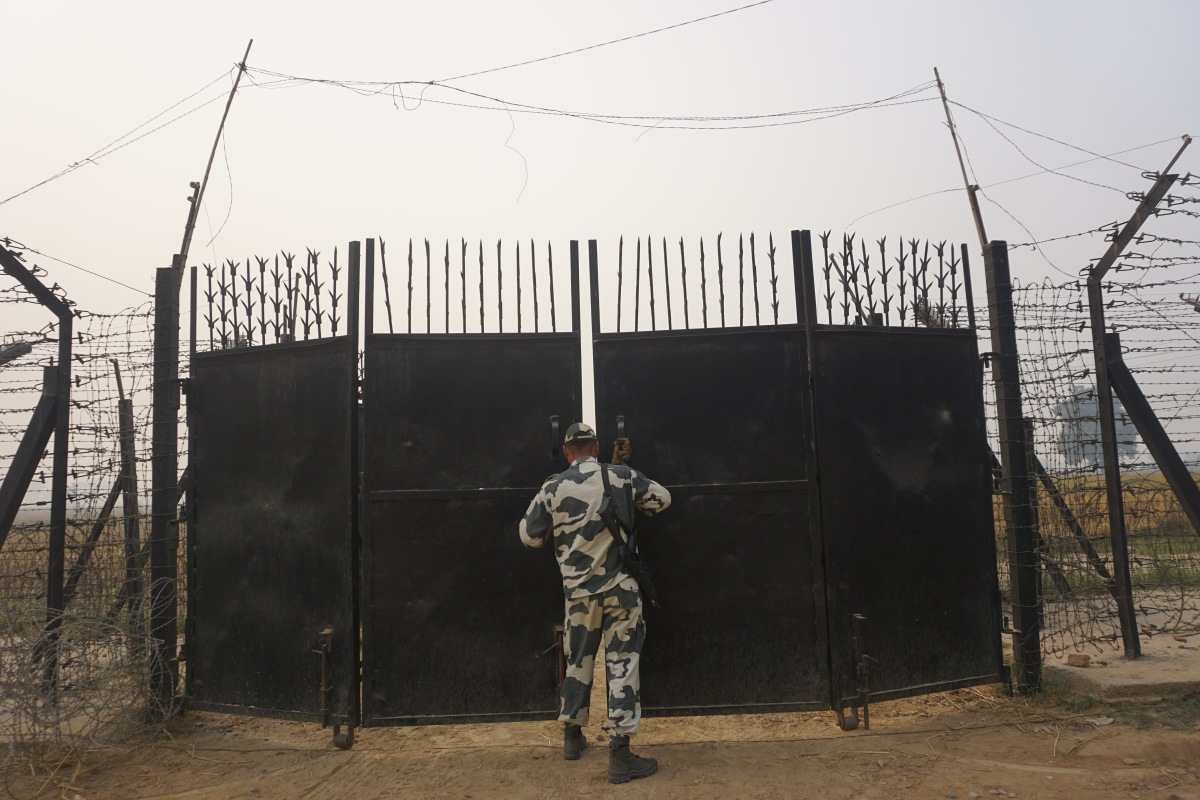 Indo Pak Border Attari-Tantalizingly close yet so unreachable