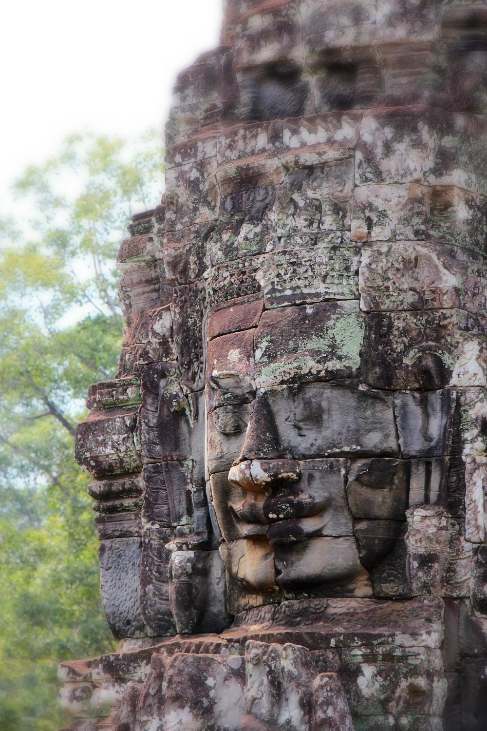 The Magnificent Ruins of Bayon Temple