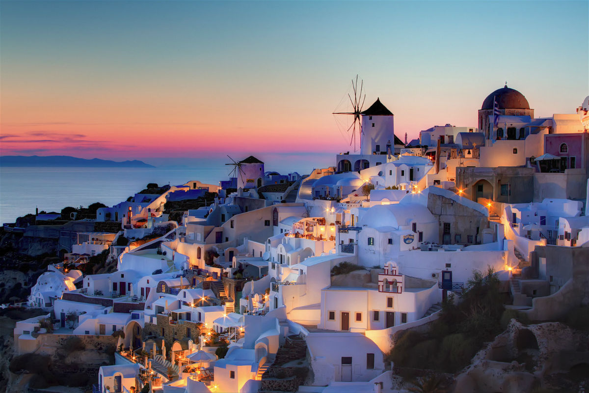 Travel To Santorini-A Magical Island
